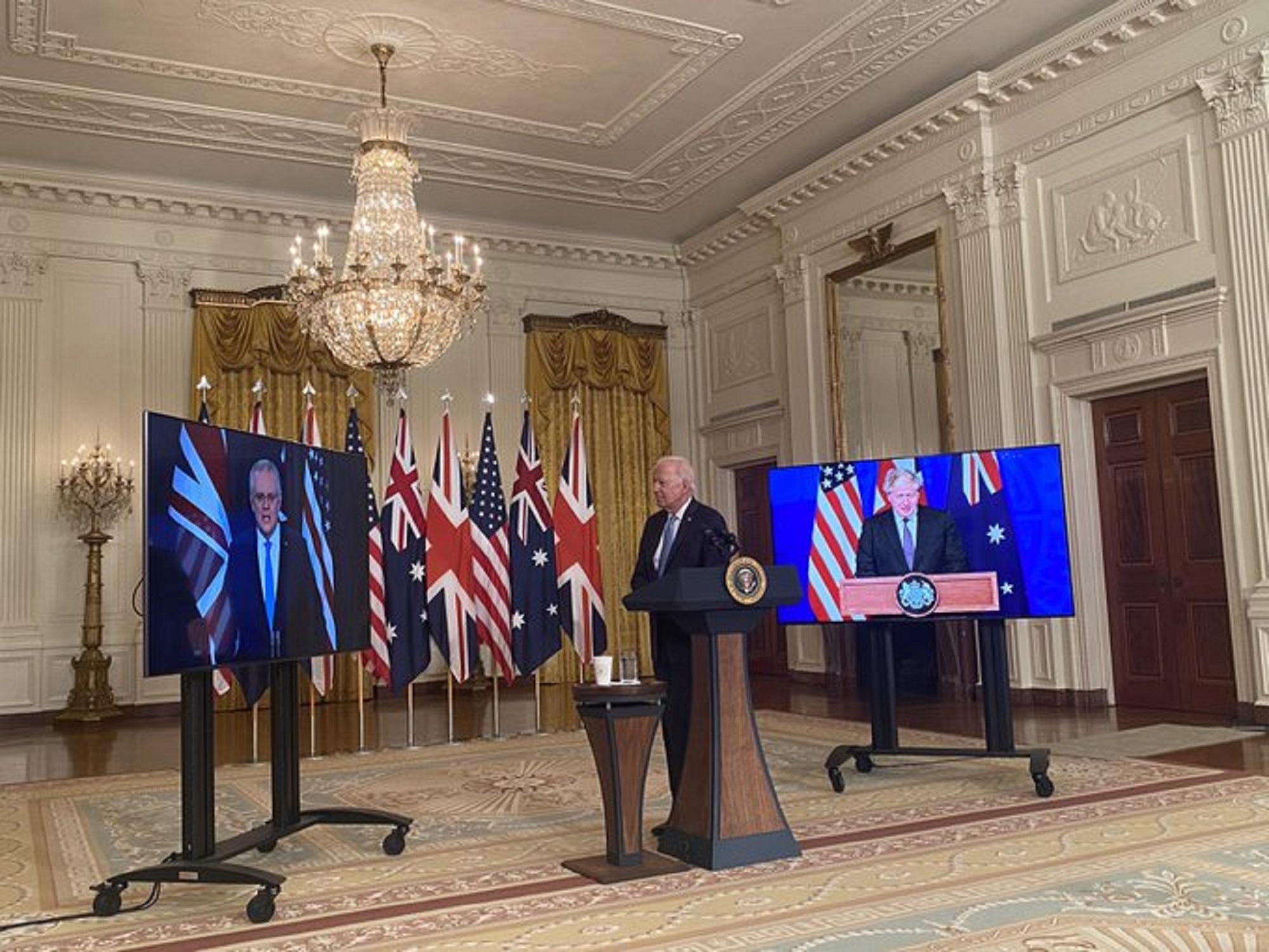 Συμμαχία στον Ειρηνικό ανακοίνωσαν Μπάιντεν – Τζόνσον και Μόρισον – Πυρηνικά υποβρύχια στην Αυστραλία