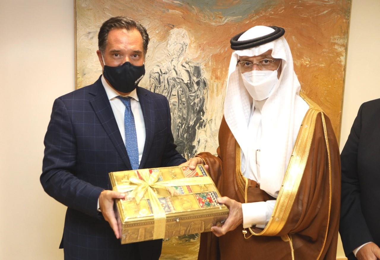 """Σαουδάραβας υπουργός: """"Η δυναμική μεταξύ των δύο χωρών είναι πολύ μεγάλη. Πιστεύω ότι θα δείτε πολλές επενδύσεις"""""""