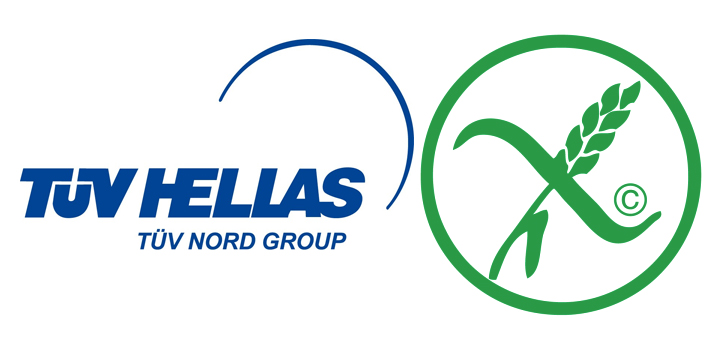 Πιστοποίηση προϊόντων χωρίς γλουτένη από την TÜV HELLAS (TÜV NORD)