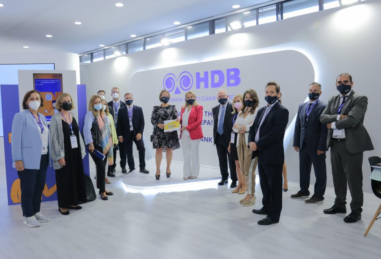 Νέα χρηματοδοτικά εργαλεία και νέες συνεργασίες ανακοίνωσε η Ελληνική Αναπτυξιακή Τράπεζα – HDB στην 85η ΔΕΘ