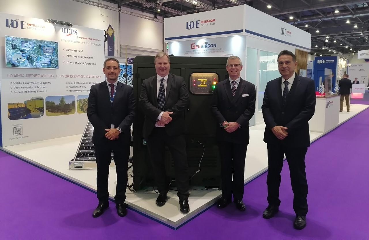 "H INTRACOM DEFENSE (IDE) στην Διεθνή Έκθεση Άμυνας & Ασφάλειας ""DSEI 2021"" με το σύστημα επικοινωνιών WiSPR επί οχήματος Jackal 2Α του Βρετανικού Στρατού"