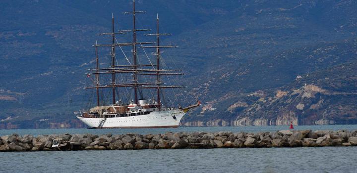 «SEA CLOUD» το θρυλικό ιστιοφόρο στο Ναύπλιο