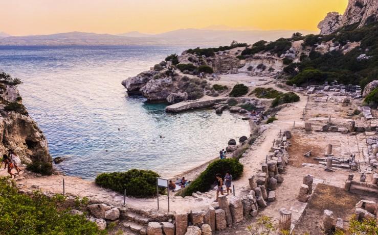 Ηραίο: Η πανέμορφη παραλία που φιλοξενεί αρχαιολογικό χώρο! (video)