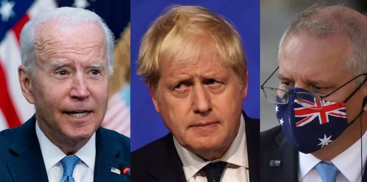 Μυστήριο: Μπάιντεν, Τζόνσον και Αυστραλός πρωθυπουργός θα κάνουν απόψε κοινή δήλωση για «θέμα εθνικής ασφαλείας
