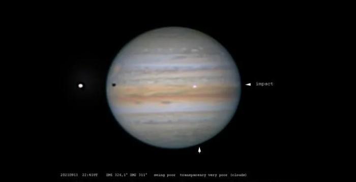 Άγνωστο τεράστιο αντικείμενο συγκρούστηκε πριν 5 ημέρες με τον πλανήτη Δία [video]