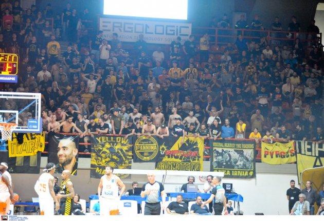 Με κόσμο η ΑΕΚ στο μπασκετικό Super Cup