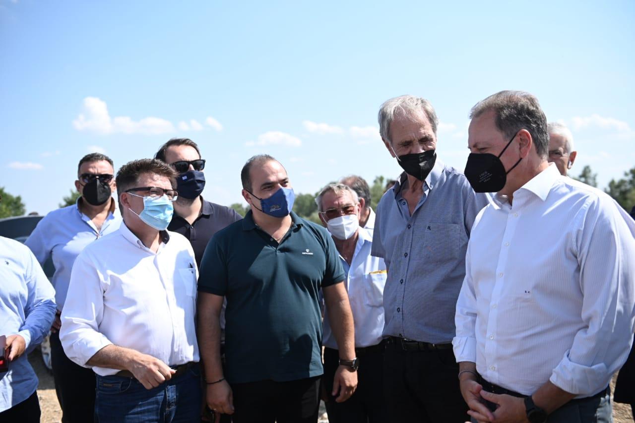 ΥΠΑΑΤ: Ξεκινά η κατασκευή του αρδευτικού έργου Ερυθροποτάμου