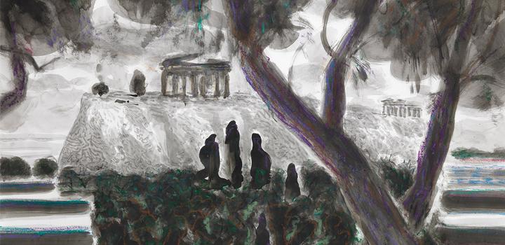 """Γιώργος Χαδούλης, """"Acropolis Now"""" στη γκαλερί Σκουφά"""