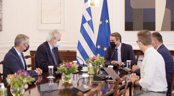 Κυρ. Μητσοτάκης: Θα οικοδομήσουμε μία υποδομή που θα γίνει πρότυπο στην Ευρώπη
