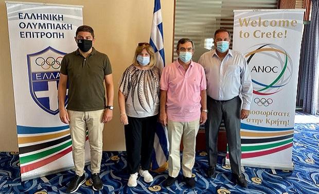Στο Ηράκλειο Κρήτης θα διεξαχθεί η Γενική Συνέλευση της Διεθνούς Ένωσης Εθνικών Ολυμπιακών Επιτροπών (23-25 Οκτωβρίου), με τη συμμετοχή εκπροσώπων των 206 Εθνικών Ολυμπιακών Επιτροπών όλου του κόσμου