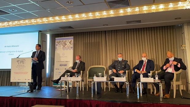 """Ομιλία Υπουργού Μετανάστευσης και Ασύλου, Νότη Μηταράκη, στο συνέδριο """"World Border Security Congress"""""""