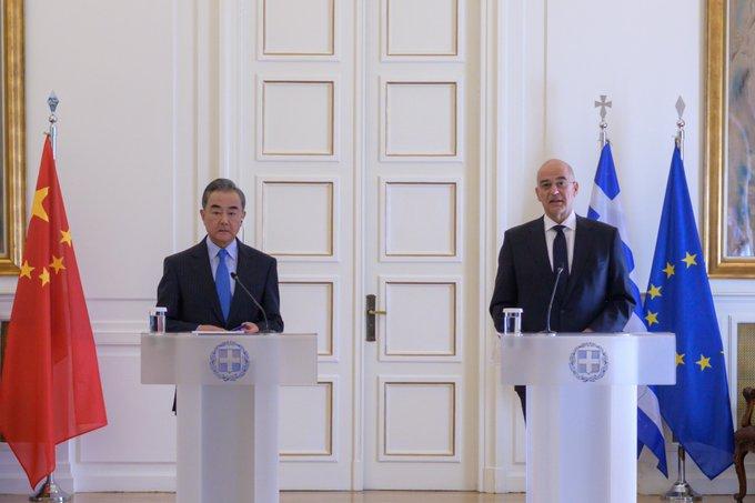 Ν. Δένδιας μετά από τη συνάντηση με τον Κινέζο ΥΠΕΞ: Υπογραμμίστηκε ο σεβασμός των δύο χωρών στη Σύμβαση των Ηνωμένων Εθνών για το Δίκαιο της Θάλασσας