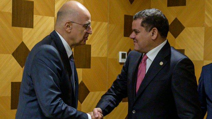 Συνάντηση Ν. Δένδια με τον Λίβυο πρωθυπουργό: Στο τραπέζι το ζήτημα του παράνομου μνημονίου Τουρκίας-Λιβύης