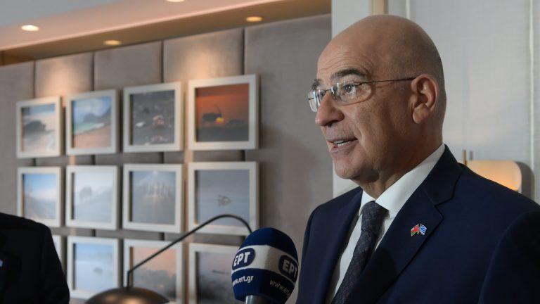 Ν. Δένδιας: Παντελώς ακατανόητες οι τουρκικές αντιδράσεις – Εξηγούνται μόνο αν η Τουρκία προσλαμβάνει τον εαυτό της ως επιτιθέμενο κράτος