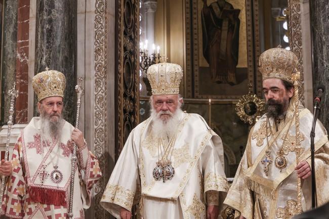 Αρχιεπίσκοπος Ιερώνυμος: Αυτός που διαφωνεί και δεν θέλει να τηρήσει τη γραμμή της Εκκλησίας να αποσυρθεί στο σπίτι του