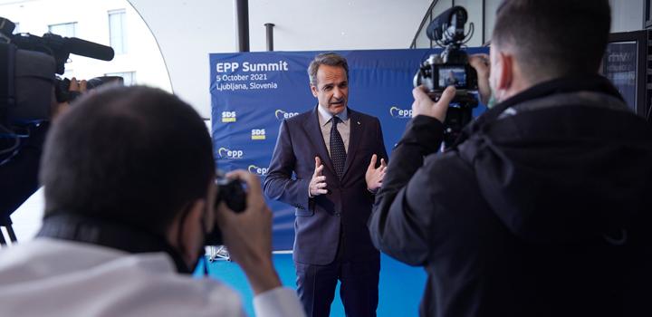 Κυρ. Μητσοτάκης: Ήρθε η ώρα να αναλάβει η Ευρώπη ξεκάθαρες δεσμεύσεις για τα Δυτικά Βαλκάνια