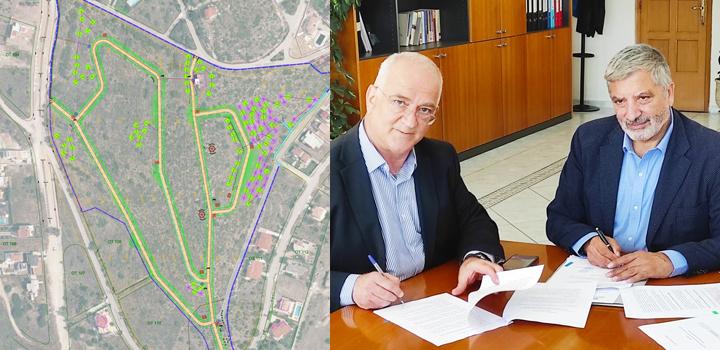 Το μεγαλύτερο πάρκο των Μεσογείων δημιουργεί ο Δήμος Παλλήνης