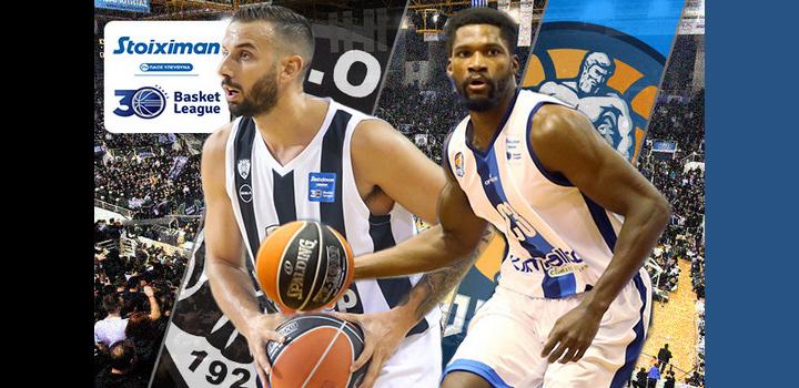 LIVE: ΠΑΟΚ – ΗΡΑΚΛΗΣ _ Basket League – Τι λένε οι αριθμοί για το πρώτο ντέρμπι  (ΕΡΤ 3)