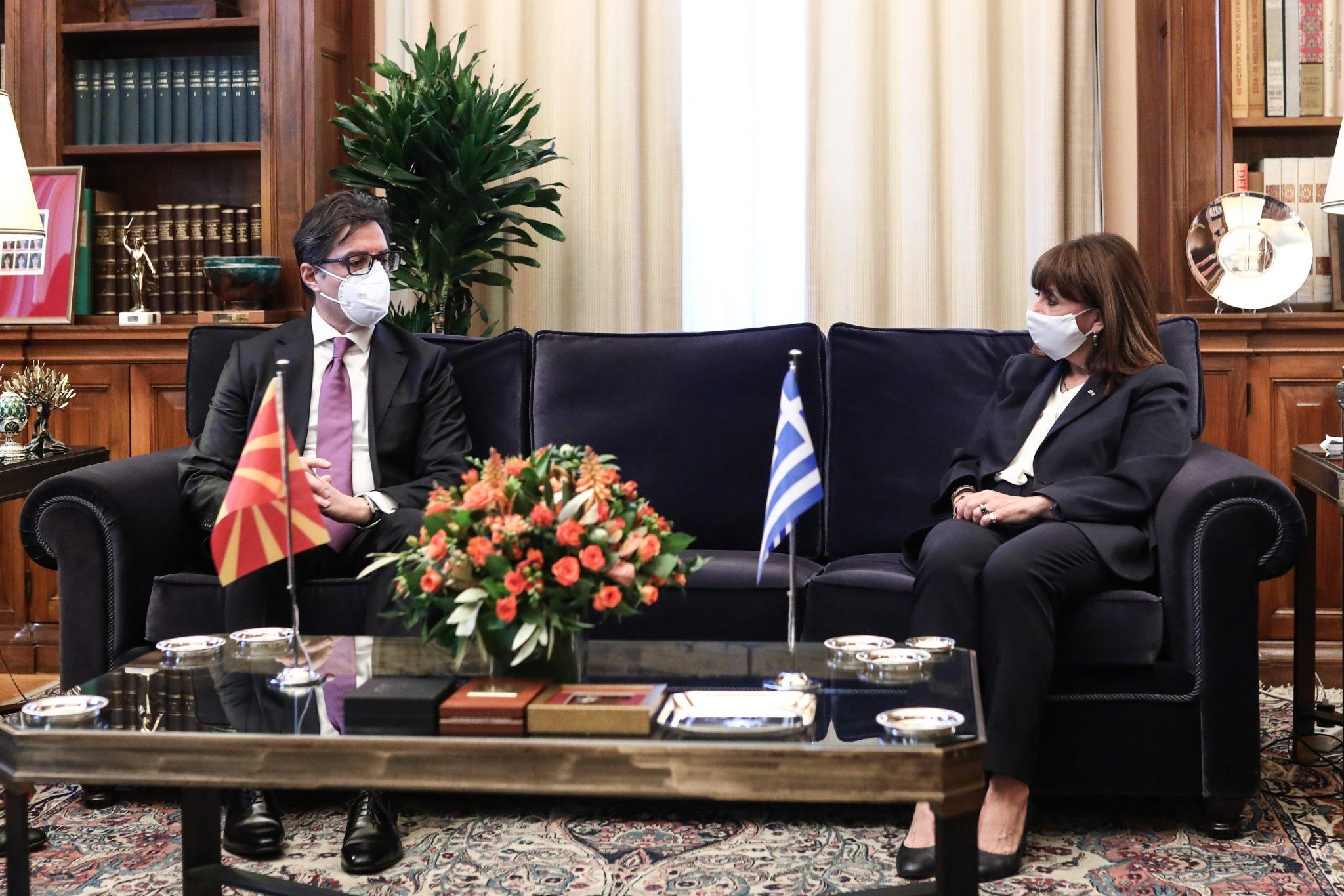 Κατ. Σακελλαροπούλου: Η συνεπής εφαρμογή της Συμφωνίας των Πρεσπών κρίσιμη για τις διμερείς σχέσεις με τη Βόρεια Μακεδονία