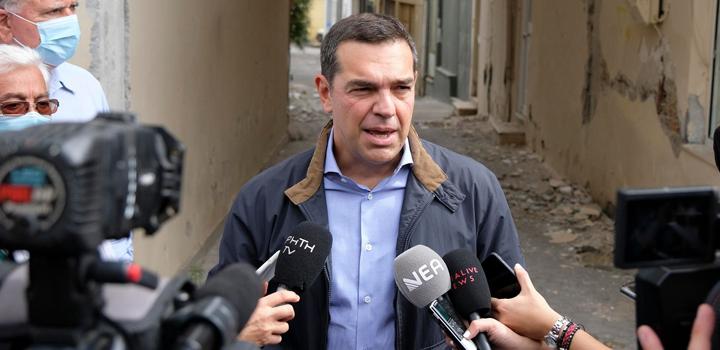 Αλ.Τσίπρας στην Περιφέρεια Κρήτης: «Να μην εγκαταλειφθούν στην τύχη τους και να μην ερημώσουν οι περιοχές» – Να δοθούν έγκαιρα οι αποζημιώσεις (video)